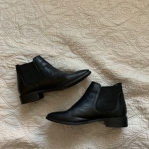 Top shop Black Chelsea Boots